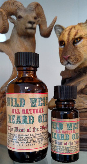 Wild West Beard Oil - All Natural - ABC School