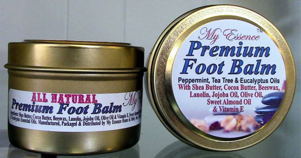 All Natural Premium Foot Balm- 2 oz