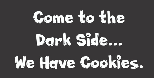 Come to the Dark Side... # 59