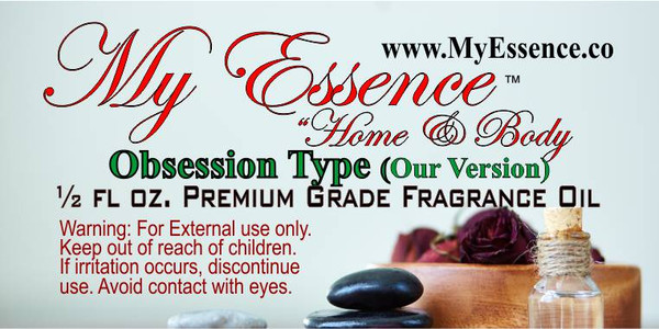 Fragrance - Obsession Type - .5 oz