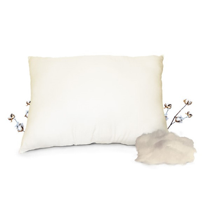 Certefied 100% Organic Cotton Pillow