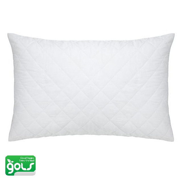 Quilted Organic Shredded Latex Pillow