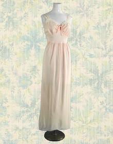 1930s pink seersucker nightie
