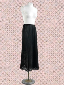 Black Kayser long half slip