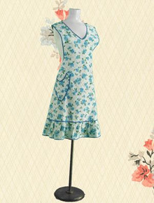 Cotton print full apron