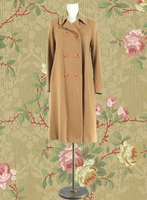Sophisticated cashmere coat