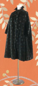 1950s Polka dot swing coat