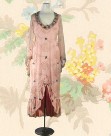 1970s Original Ritche Couture gown