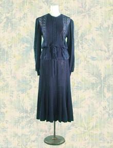 1970s Oscar da la Renta skirt & sweater set