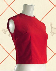1960s cotton velvet sheath tank