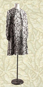 Mid 60's Trapeze dress - swirls!