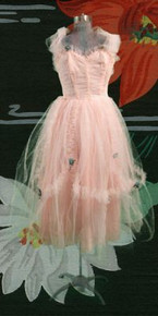 Dancing dress - silk taffeta & net