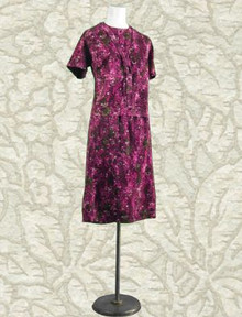 1960s new old stock two piece dress