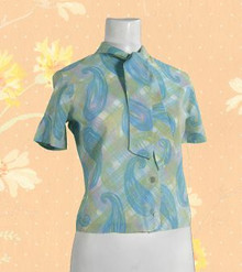 1960s Fashion Fads blouse