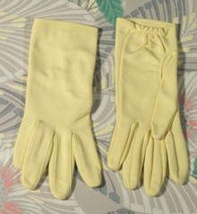 Baby chick yellow Kayser gloves