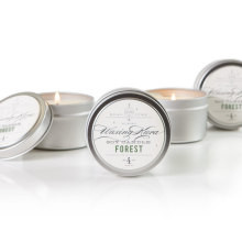 Our beautiful Forest Soy Candle is wonderful to unwind and relax with or it makes a great gift. Tin candles offer a tidy appearance, are easy to travel with and don't break at high temperatures. Our soy candles offer just the right amount of scent and glow and they can be used in many settings where larger candles won't fit.