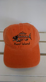 Orange KI Bonefish Cap