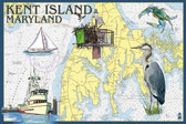 K.I. Nautical Chart Print