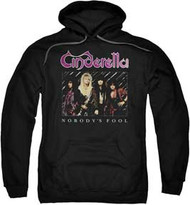 Cinderella - Nobodys Fool - Mens -Heavyweight Hoodie