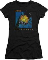Def Leppard - Pyromania Juniors Cap Sleeve - Womens - Tee