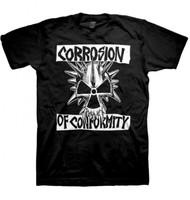 Corrosion Of Conformity | Classic Skull Logo | Mens T-shirt