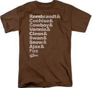 Warriors - Roster - Mens - T-shirt