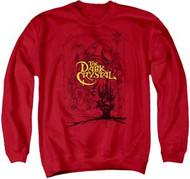 Dark Crystal - Poster Lines - Mens - Crewneck Sweatshirt