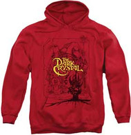 Dark Crystal - Poster Lines - Mens - Heavyweight Hoodie