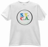 S.Y.C.A. - Circle Logo - Mens - White - T-shirt