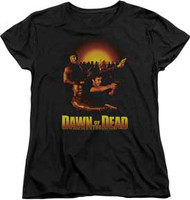 Dawn of the Dead - Dawn Collage - Womens - T-shirt