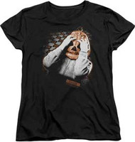 Halloween - Pumpkin Mask - Womens - T-shirt