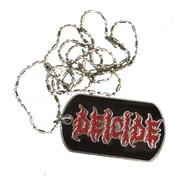 Vintage - Deicide - Logo - Dog Tag