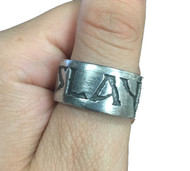 Vintage - Slayer - Metal Ring - Size 12
