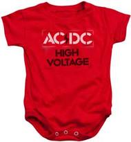 AC/DC - High Voltage Stencil - Infant Snapsuit