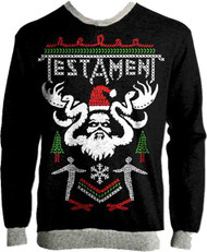 Testament - Ugly XMAS Sweater -  Acrylic Knit Sweater