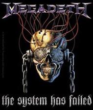 Megadeth - System Has Failed - Sticker