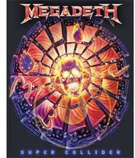 Megadeth - Super Collider - Sticker