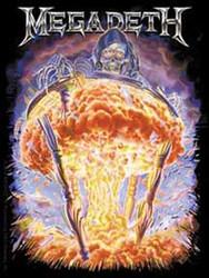 Megadeth - Mushroom Cloud - Sticker