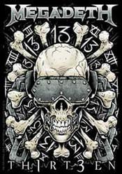 Megadeth - Metal Skull 13 - Sticker
