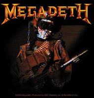Megadeth - So What Soldier - Sticker