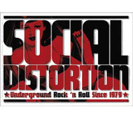 Social Distortion - Logo - Sticker