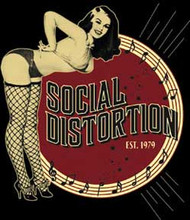 Social Distortion - Burlesque - Sticker