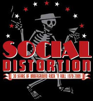 Social Distortion - Skelly and Logo - Sticker