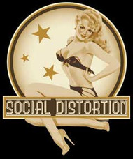 Social Distortion - Pin Up - Sticker