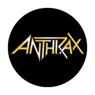 "Anthrax - Logo - 1"" Button"
