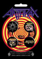 Anthrax - Assorted - Button Set