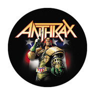 "Anthrax - Dredd - 1"" Button"