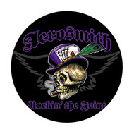 "Aerosmith - Top Hat Skull - 1"" Button"