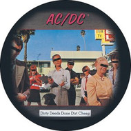 "AC/DC - Dirty Deeds - 1"" Button"