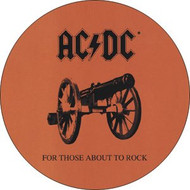 "AC/DC - About To Rock - 1"" Button"